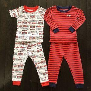 Carter's 4 Piece Cotton Pyjamas 12-18 months